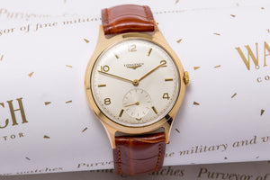 Longines 9ct Gold dress watch