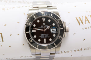 Rolex Submariner  116610LN with  Box and Papers