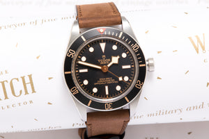 Tudor 58 Box and Papers