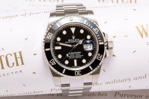 Rolex Submariner ref 116610LN UNWORN - SOLD