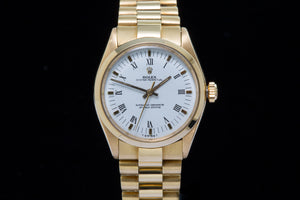 Rolex Oyster Perpetual 18ct gold