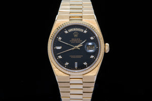 Rolex Oyster Quartz 18ct gold