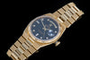 Rolex Oyster Quartz 18ct gold day date with factory diamond dial