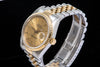 Rolex Datejust gents 18ct gold and stainless steel