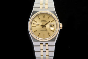 Rolex Oyster Quartz 18ct gold and steel