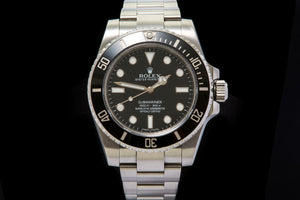 Rolex Submariner no date ref 114060