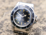 Rolex Submariner 5513  Gilt Swiss only exclamation mark dial