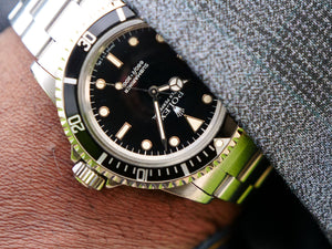 Rolex Submariner 5513 early gloss dial RESERVED