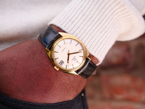 Omega Geneve 18ct gold