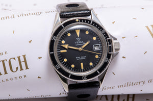 Yema 'superman' professional divers watch SOLD