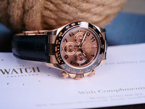 Rolex Daytona 116515LN Everose Gold & Chocolate Dial.