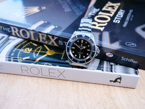 Rolex 5513 Meters first Gilt Dial Box and Papers