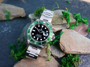 "Rolex Submariner 16610LV ""KERMIT"" Full SET"