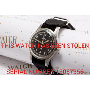 Omega 1953 Pilots Watch - This Watch Has Been Stolen