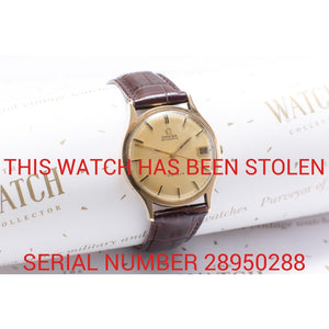 Omega Geneve Boxes - This Watch Has Been Stolen