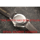 Omega Seamaster 2846 - This Watch Has Been Stolen