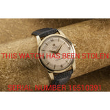 Omega Seamaster Automatic Sold - This Watch Has Been Stolen