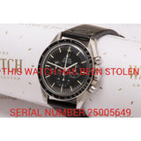 Omega Speedmaster 145 012.67 - This Watch Has Been Stolen