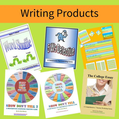 Writing Products