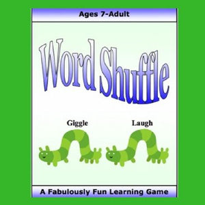 Word Shuffle is a terrific word game, available as a digital download, that strengthens speed of processing and language skills.