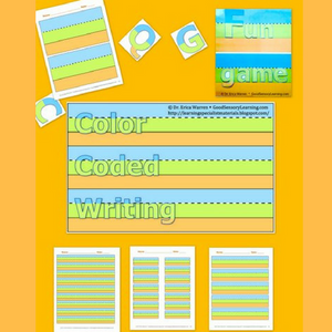 Color-Coded Handwriting and Activities offers a multisensory, scaffolded approach to letter and word formation.