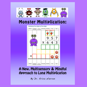 Monster Long Multiplication is a fun, mindful and multisensory approach to teaching long multiplication.