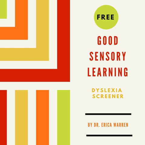 This free dyslexia test, 20-question screener offers a simple, Likert scale that addresses the common symptoms.