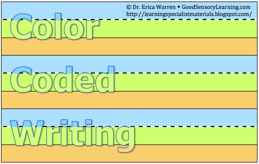 Color-Coded Handwriting