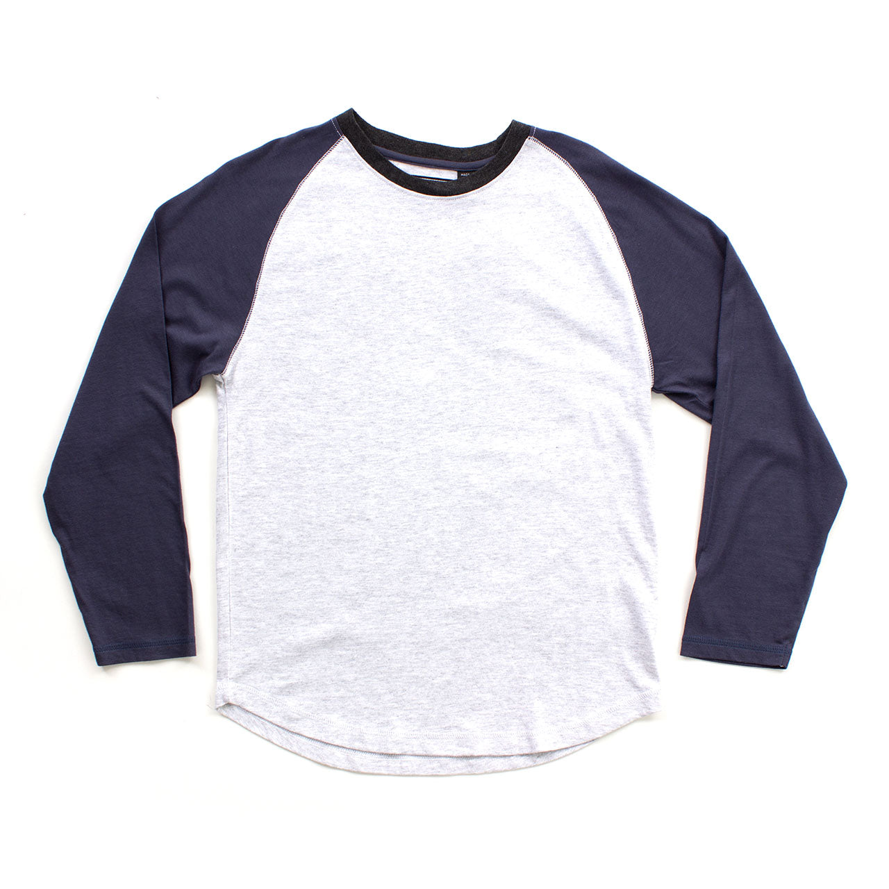 Jaylen Raglan Long Sleeve Tee Small Boys