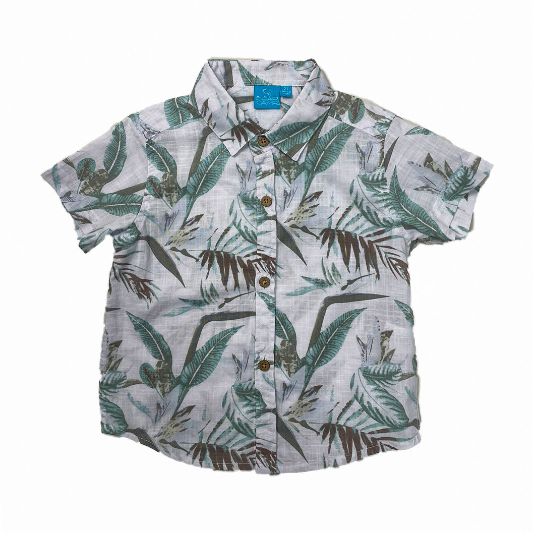 Rocco Nature Print Shirt Toddler