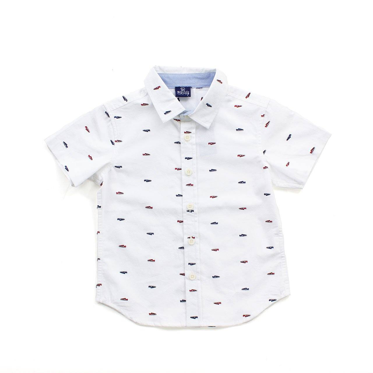 Baby, Short Sleeve Button Down - Gilbert Button Down Baby