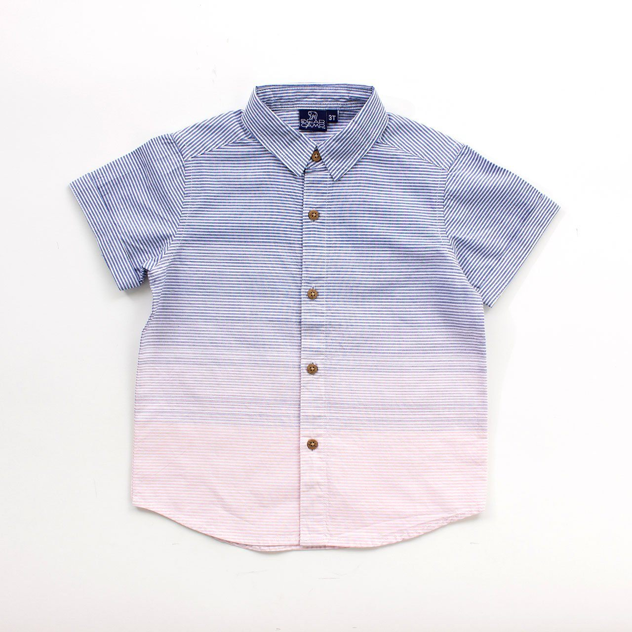 Toddler, Short Sleeve Button Down - Gideon Button Down Toddler
