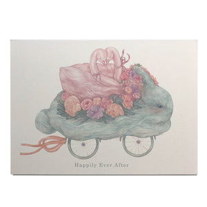Greeting Card: Bunny Ride