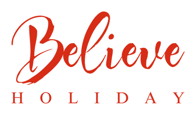 Believe Holiday Logo