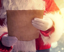 Load image into Gallery viewer, Santa holding a Letter