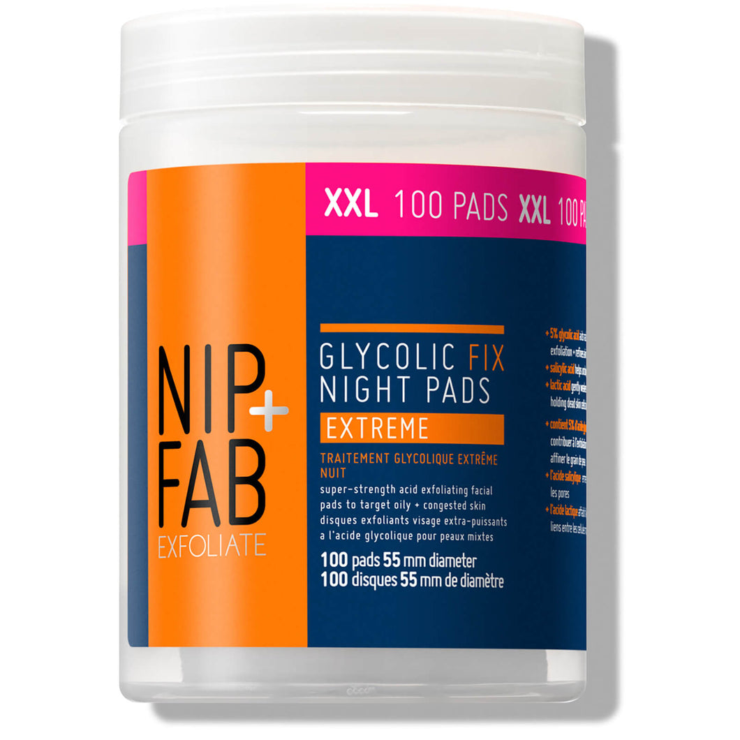 SUPERSIZE Glycolic Fix Night Pads Extreme