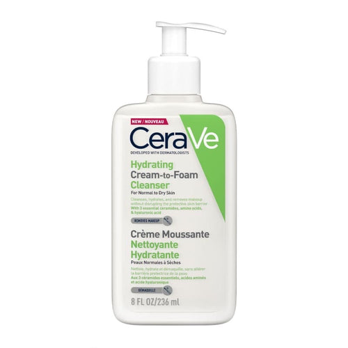 Hydrating Cream-To-Foam Cleanser (236ml)