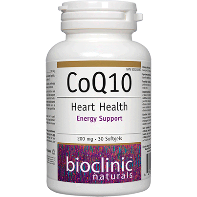 CoQ10 - 200mg - 60 softgels