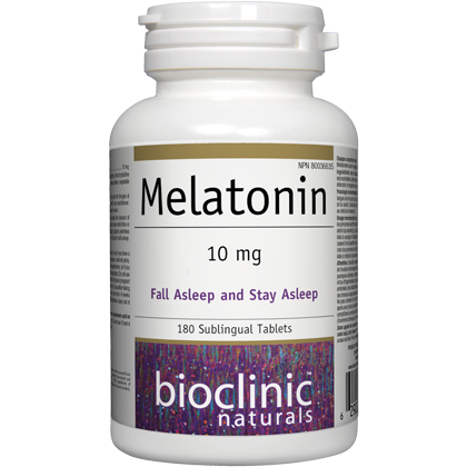 Melatonin 10mg - 180 subling tabs