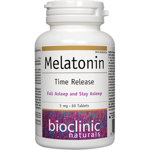 Melatonin Time release 5mg - 60tabs