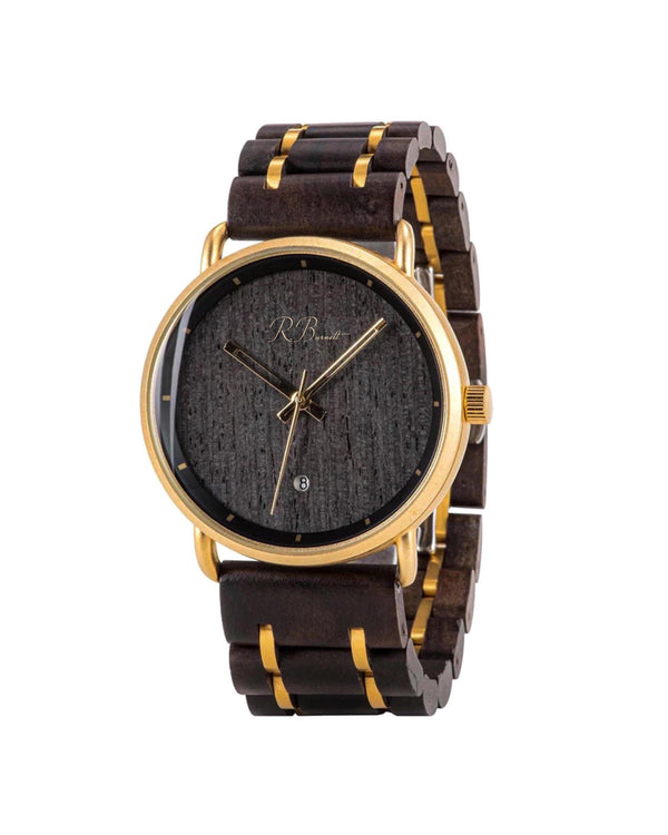 Stealth - Wooden Watch - R. Burnett Brand