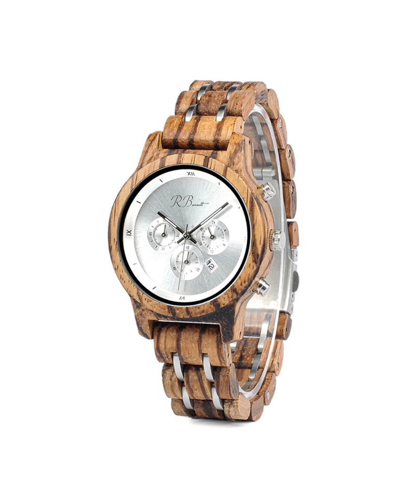 Argento - Wooden Watch - R. Burnett Brand