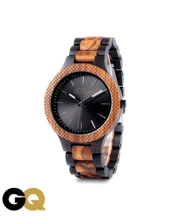 Forest - Wooden Watch - R. Burnett Brand