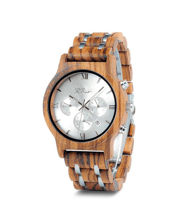 Timber - Wooden Watch - R. Burnett Brand