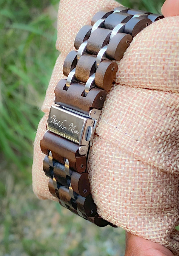 Justice - Wooden Watch - R. Burnett Brand