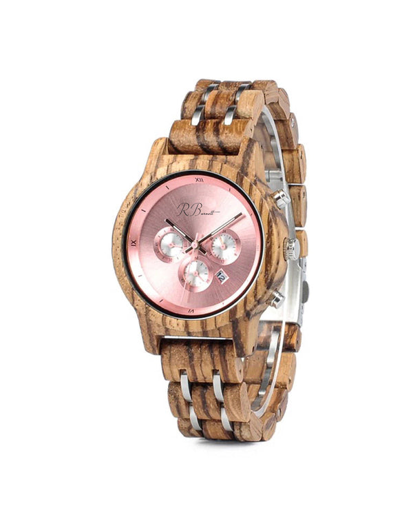 Rosa - Wooden Watch - R. Burnett Brand