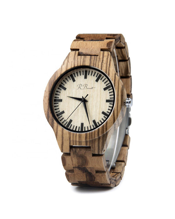Brun - Wooden Watch - R. Burnett Brand
