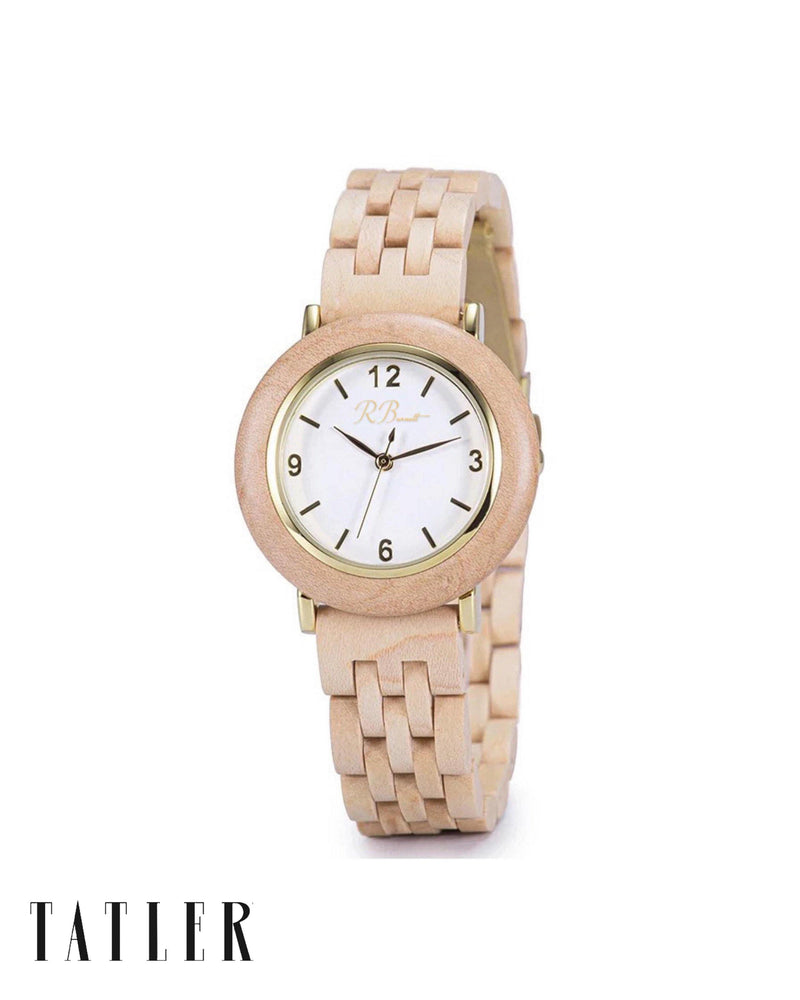 Aurelia - Wooden Watch - R. Burnett Brand