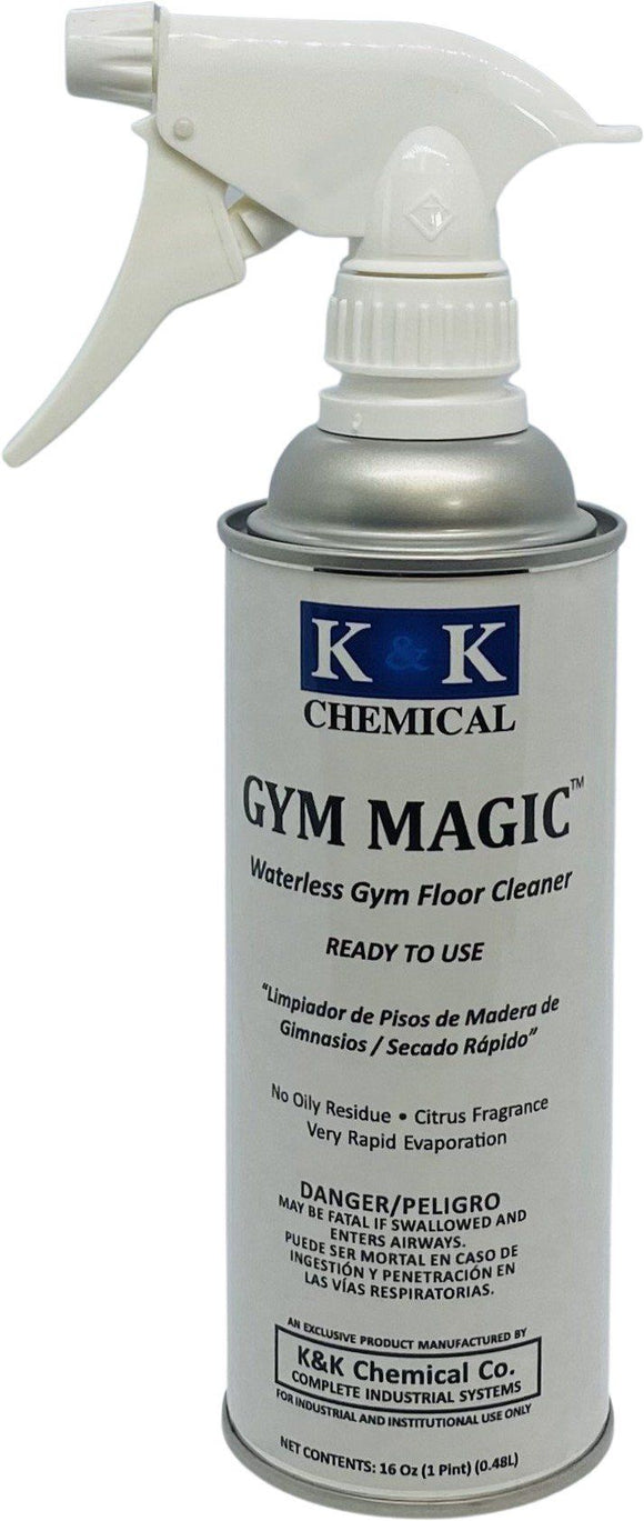 GYM MAGIC - RTU | Waterless Gym and Wood Floor Cleaner