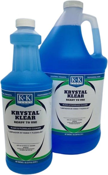 KRYSTAL KLEAR - RTU | Glass and Plexiglass Cleaner - Ammonia Free